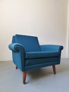 1960s Danish armchair by Aage Christiansen for Eran