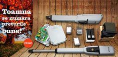 Kit automatizare Faac 415 poarta batanta este un kit special creat pentru porti batante cu lungimea canatului de maxim 2.5 metri. Il gasiti la un super pret de toamna, impreuna cu toate accesoriile accesand linkul: http://www.automatizari.store.ro/Kit-automatizare-Faac-415-poarta-batanta