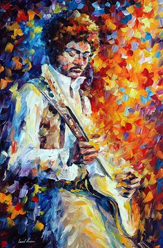 Jimi Hendrix Art Print for sale. Shop your favorite Leonid Afremov Jimi Hendrix Art Print without breaking your banks. Guitar Painting, Guitar Art, Oil Painting On Canvas, Ray Charles, Jimi Hendrix, African American Art, Palette Knife, Playing Guitar, Amazing Art