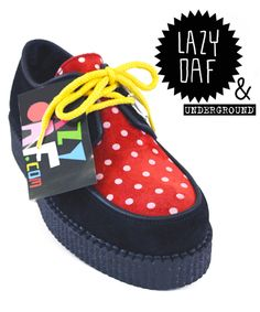 Love these - Lazy Oaf X Underground Creepers - £85