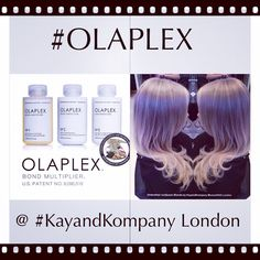@OLAPLEX - Revolutionary #miracleproduct thats mesmerised #Hollywood has arrived in #London #MuswellHill #N10 @ KayandKompany #miracletreatday #Olaplex #hair