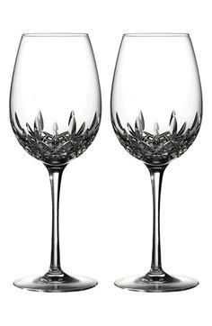 Waterford 'Lismore Essence' Lead Crystal Red Wine Goblet (Set of 2)