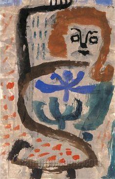 A Swarming - Paul Klee Paintings