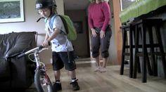 Jackson Bikes to Kindergarten. Credit to Ron Goldstone.