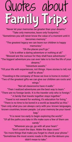 The best quotes about family travel, quotes about family traveling, quotes about. - The best quotes about family travel, quotes about family traveling, quotes about family travel life - Family Vacation Quotes, Best Family Quotes, Best Travel Quotes, Family Travel, Family Family, Funny Family, Best Quotes, Life Quotes, Travel Kids