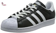 adidas Originals  Superstar Nigo, Chaussures de Skateboard adulte mixte - Noir - Schwarz (Core Black/Ftwr White/Ftwr White), 44 - Chaussures adidas originals (*Partner-Link)