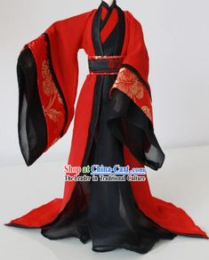Ancient Chinese Red and Black Wedding Dress for Men dresses black men Japanese Outfits, Korean Outfits, Mode Outfits, Japanese Fashion, Fashion Outfits, Japanese Male, Cosplay Costumes For Men, Cosplay Outfits, Chinese Clothing Traditional