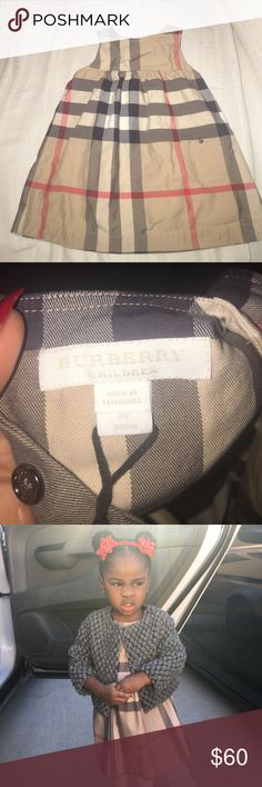 Toddler 2t Burberry dress Used toddler 2t Burberry dress 👗 Burberry Dresses