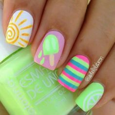 Perfect summer nails