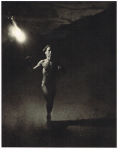 1936 German Olympic Games Torch Runner Leni Riefenstahl Photo Gravure