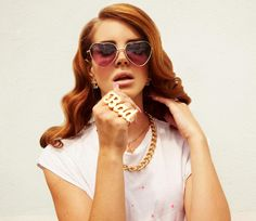 Baby put on heart shaped sunglasses  Cause we gonna take a ride  -Lana Del Rey