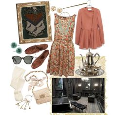 42/70 Grimmauld Place, created by girloverboard on Polyvore