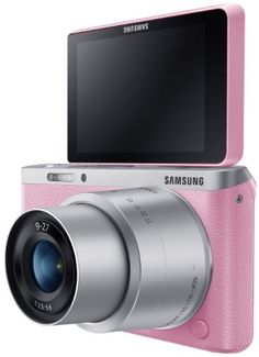 Samsung Electronics NX Mini Wireless Smart Compact System Camera with LCD and ED (Brown) Electronics Gadgets, Technology Gadgets, Pink Camera, Cameras Nikon, Samsung Camera, Perfect Selfie, System Camera, Camera Gear, Camera Photography