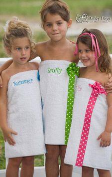 Cute swim suit cover-ups!