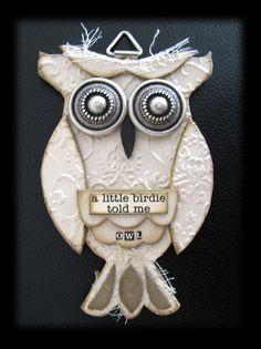 Owl craft by Julie Van Oosten