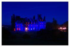 #Bretagne #Finistere © Paul Kerrien  http://toilapol.net #Trevarez : bleu