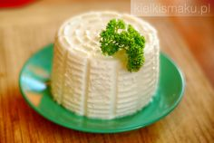 Domowy serek a'la ricotta Ricotta, Pudding, Cake, Desserts, Food, Tailgate Desserts, Deserts, Food Cakes, Eten