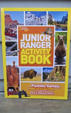 Junior Ranger Activity Book: Puzzles, Games, Facts, and Tons More Fun Inspired by the U. Junior Ranger Activity Book Puzzles Games Facts and Tons More Fun Inspired by the U S National Parks Camping Games, Camping Activities, Activities For Kids, Camping Tips, Preschool Ideas, Us Park, National Geographic Kids, Us National Parks, Park Service