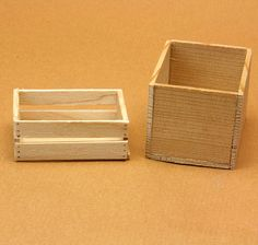 Traditional Storage in Miniature, The Common Wooden Crate: Make a Variety of Simple Crates for Scale Displays or Storage