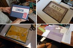 Janas Bastelwelt - Unabhängige Stampin' Up! Demonstratorin: Workshop-Rückblick: Fotoalben binden