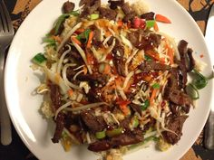 Couscous-salat med oksekød