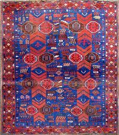 Design of the Persian rugs never goes out of style or look out dated. Beautiful carpet-different colour is a mix of modern and tradition. #MKM915