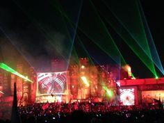 TomorrowWorld - Laser Lights  #EDM