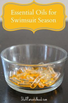 swimsuit ready with oils. Love this combo to help me with energy and with cravings.