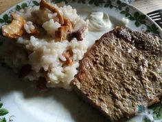 Unser Pilzrisotto Mashed Potatoes, Beef, Lifestyle, Ethnic Recipes, Travel, Food, The East, Mushrooms, Gluten Free