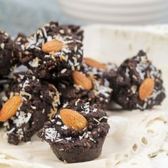 Mini Brownie Wannabe Fudgy Bites #glutenfree #grainfree #paleo