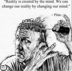 """ Reality is created by the mind. We can change our reality by changing our mind. Positive Quotes, Motivational Quotes, Inspirational Quotes, Wisdom Quotes, Life Quotes, Post Quotes, Quotations, Qoutes, Monday Morning Motivation"