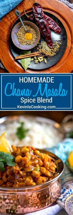 For my Chana Masala Spice Blend, a traditional Indian seasoning used for chickpeas (chana) dishes, I toast spices like chiles, cinnamon, coriander, fenugreek, fennel and others then grind to a powder for that authentic special touch. Better than store bought and make in small batches to stay fresh. #spiceblend #chanamasala  via @keviniscooking