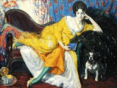pintura de Ulisse Caputo (1872-1948)