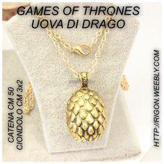 COLLANA GAMES OF THRONES UOVA DI DRAGO