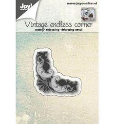 Joy!Crafts mallen 6002/0561 Vintage Endless Corner