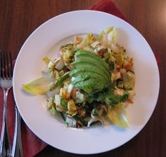 Asian Chop Salad -American Vegetarian, Holly Kirby