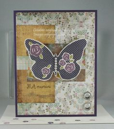 Floral Wings for Mom by cindy_canada - Cards and Paper Crafts at Splitcoaststampers