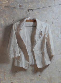 Zoey Frank - White Jacket