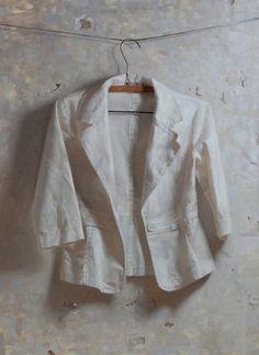 Zoey Frank - White Jacket