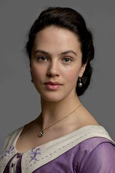 Lady Sybil, nurse, independent thinker and the bravest of the Crawley sisters.  (Downton Abbey)