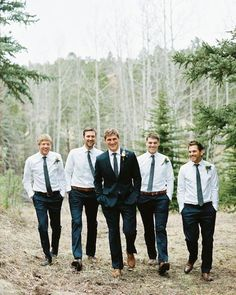 Lisa's Southern Wedding: The Gents' Attire