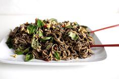 Black Sesame And Gingr Chicken Noodle Salad