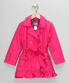 19.00 from Z2 on Zulily (just join up and buy) cute trench for girls! Great price. Love the ruffled hem!
