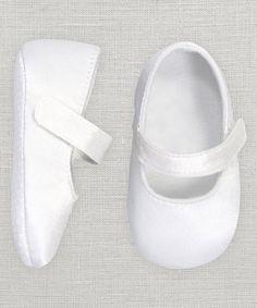 Look at this #zulilyfind! White Mary Jane Booties #zulilyfinds