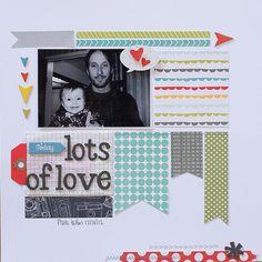Lots of Love - Scrapbook.com