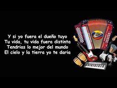 Si Yo Fuera El Dueño Tuyo - Enaldo Barrera | Letra - YouTube Dame Amor, Music Songs, Videos, Youtube, Make It Yourself, Instagram, Carne, Mariana, Promissory Note