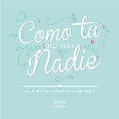 Como tú no hay nadie :) www.mrwonderfulshop.es #mrwonderful #quote #motivation #illustration