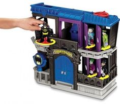 Fisher-Price Imaginext DC Super Friends Batman Gotham City Jail #FisherPrice