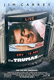 The Truman Show Poster The Truman Show Jim Carrey Movie Posters