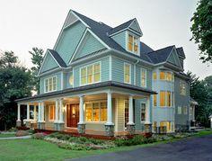 Farmstyle House in Kensington, MD